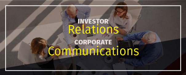 Investor Relations Corporate Communications