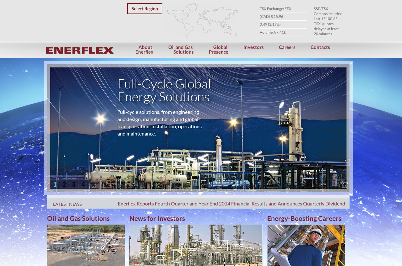 Enerflex Website