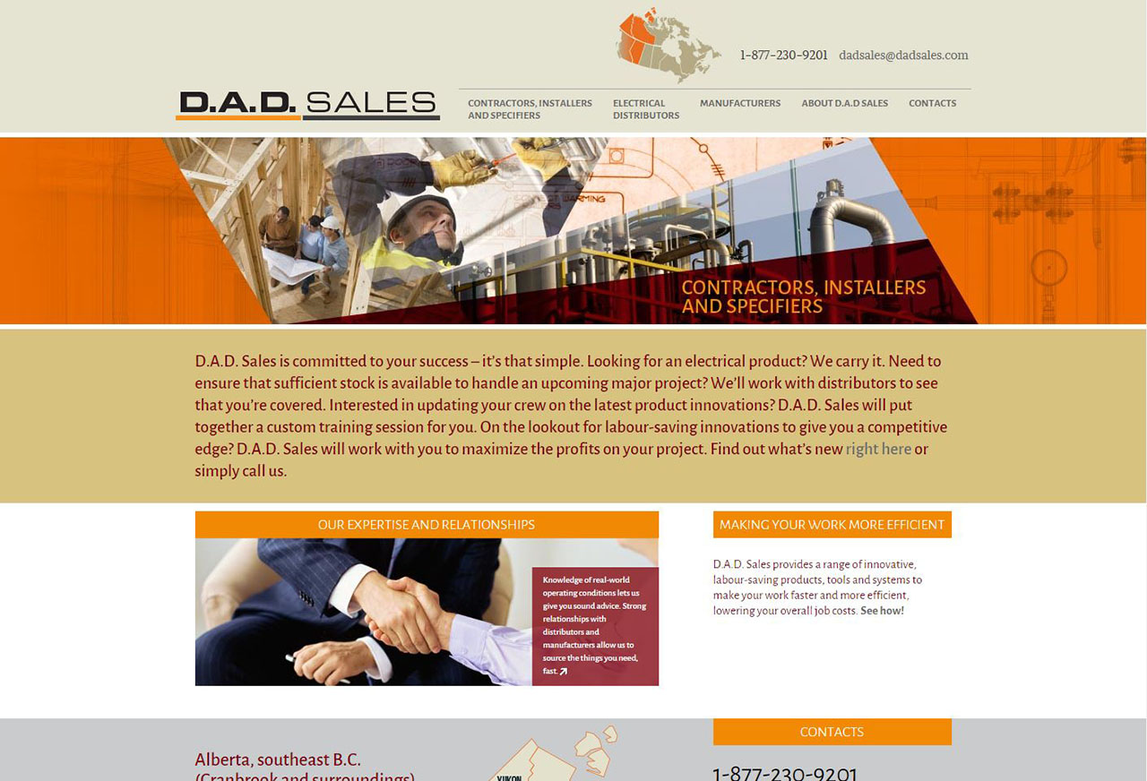 Dadsales Website